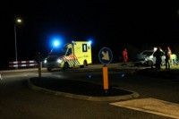 2018-01-25 Foto's van verkeersongeval Marneweg Lauwersoog (6)