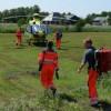 Traumahelikopter ingezet voor medisch spoedgeval(Video)