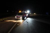 Politieauto aangereden op Groningerstraatweg N355
