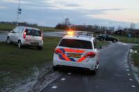 Auto's botsen op Ljouwerterdyk