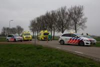 Fietsster zwaar gewond bij ongeval Raard