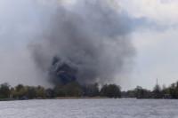 Twee caravans verloren bij felle brand