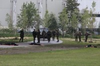 Korps Nationale Reserve oefende rondom Burgum