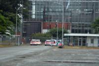 Veel politie op de been bij Centrale Burgum