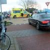 Fietser gewond bij ongeval